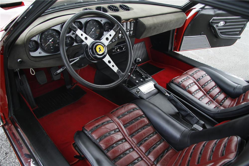 1973 FERRARI 365 GTB/4 BERLINETTA COUPE - Interior - 108125