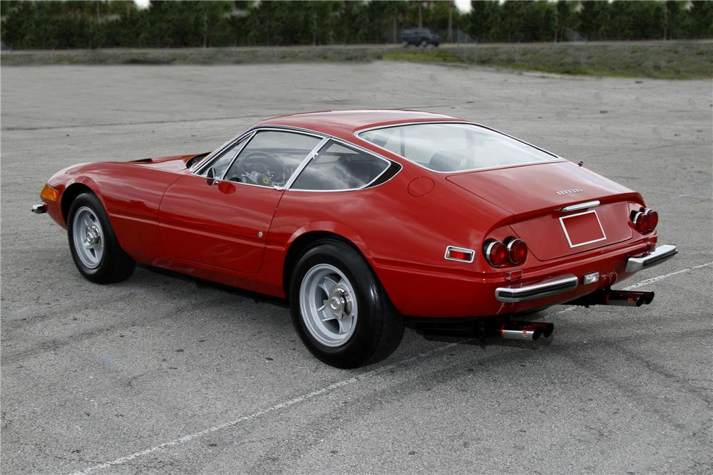 1973 FERRARI 365 GTB/4 BERLINETTA COUPE - Rear 3/4 - 108125