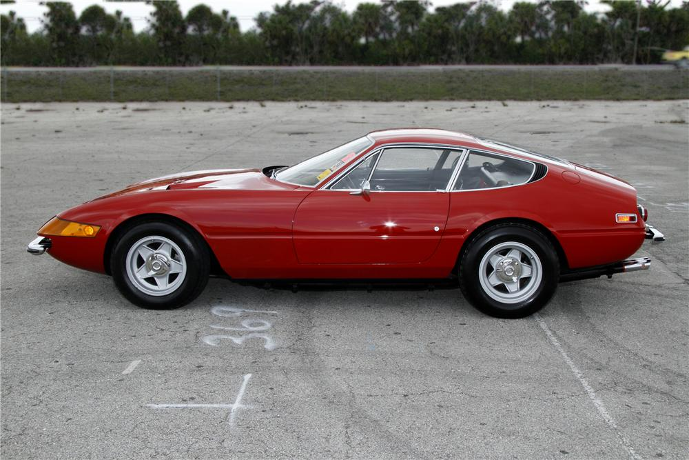 1973 FERRARI 365 GTB/4 BERLINETTA COUPE - Side Profile - 108125