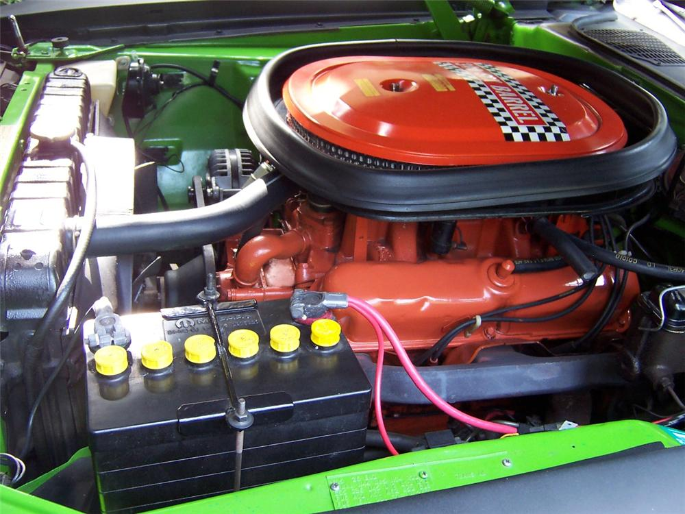 1970 PLYMOUTH CUDA AAR COUPE - Engine - 108145