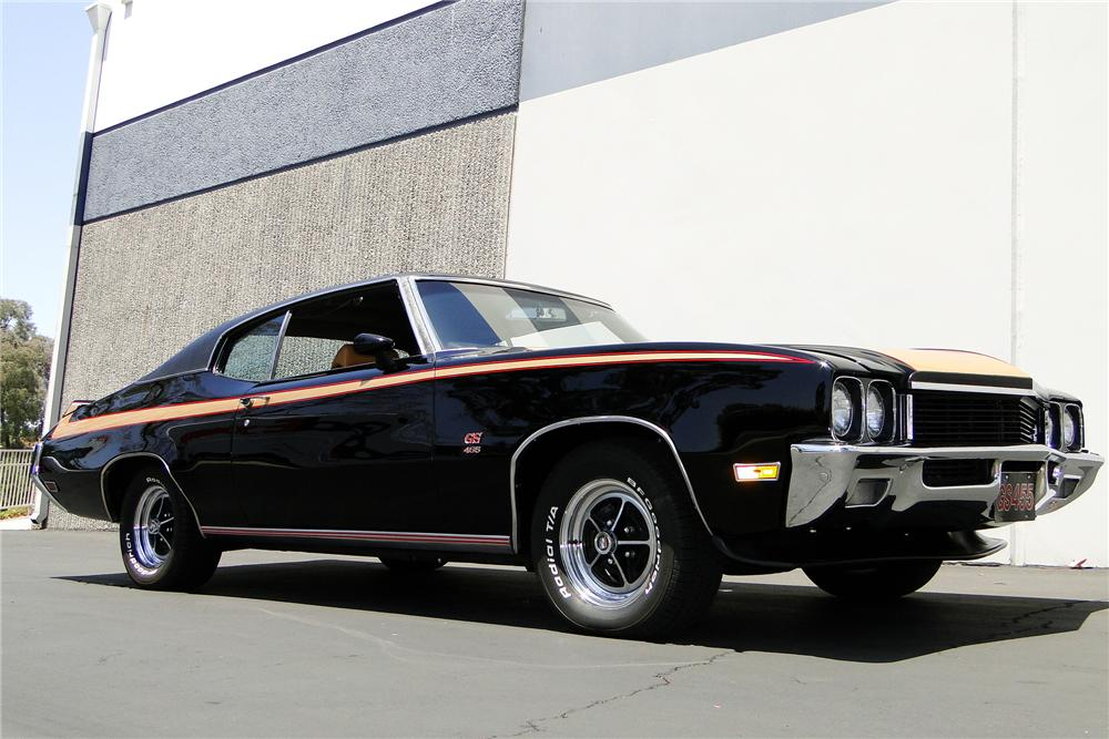 1972 BUICK GS455 COUPE - Front 3/4 - 108153