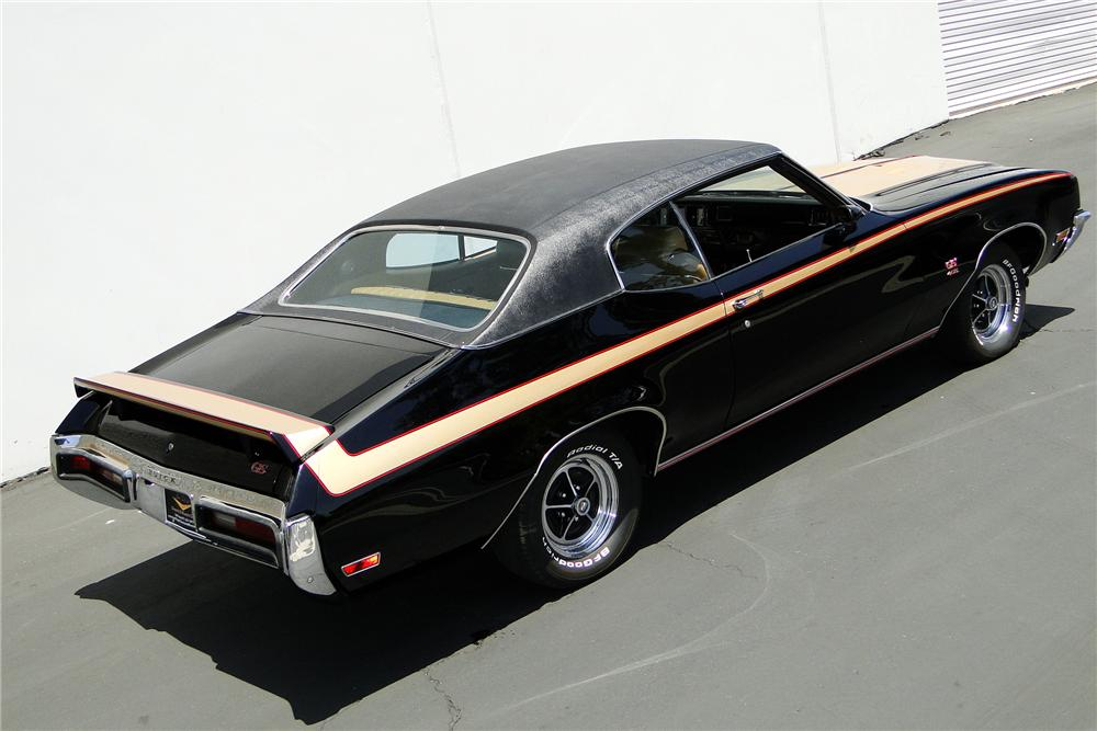 1972 BUICK GS455 COUPE - Side Profile - 108153