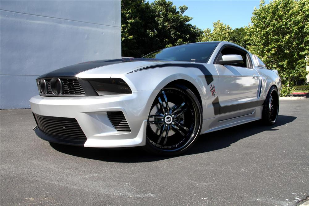 2011 Ford Mustang Gt Custom Coupe 108167