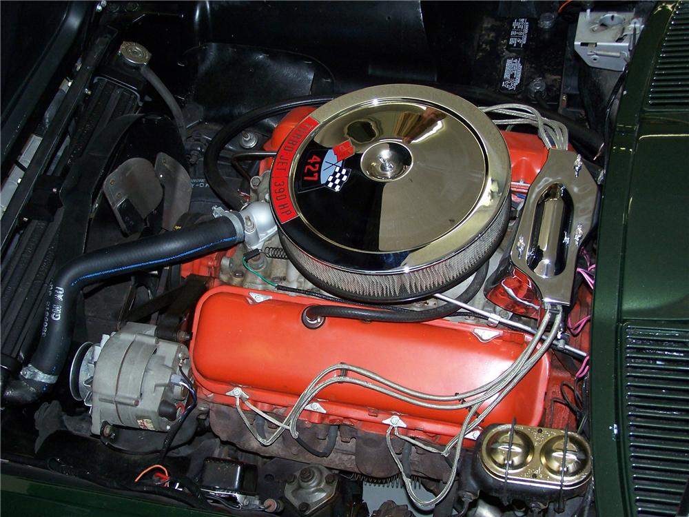 1967 CHEVROLET CORVETTE CONVERTIBLE - Engine - 108174