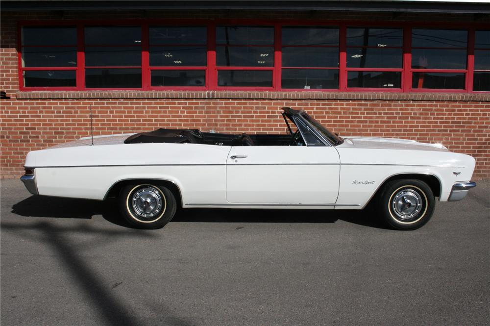 1966 CHEVROLET IMPALA SS CONVERTIBLE - Side Profile - 108177