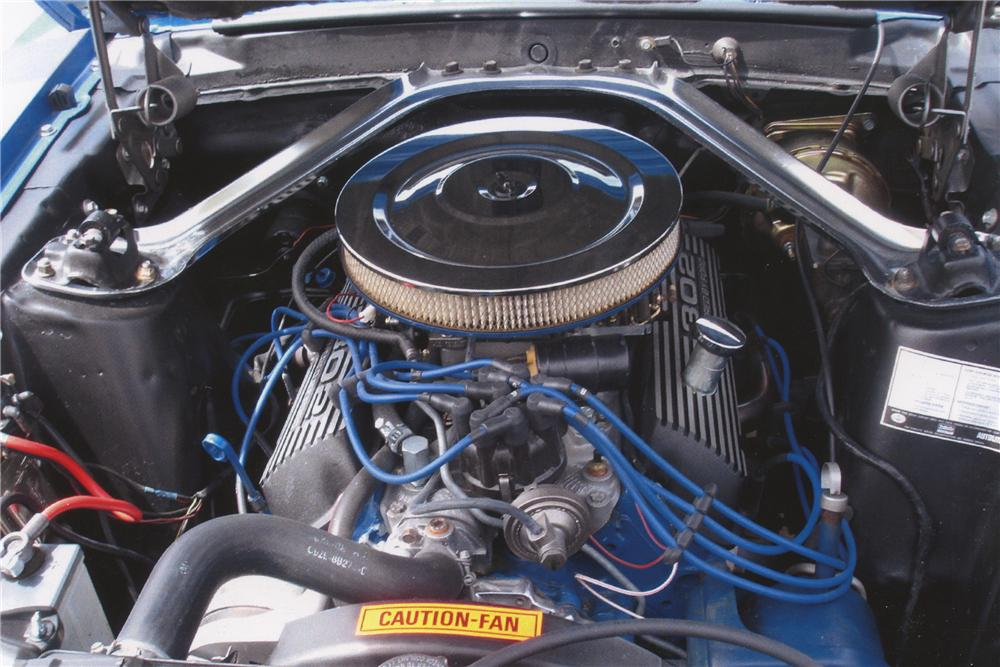 1970 FORD MUSTANG 2 DOOR FASTBACK - Engine - 108179