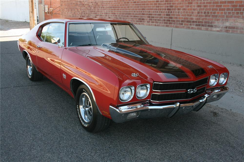 1970 CHEVROLET CHEVELLE SS 2 DOOR COUPE - Front 3/4 - 108180