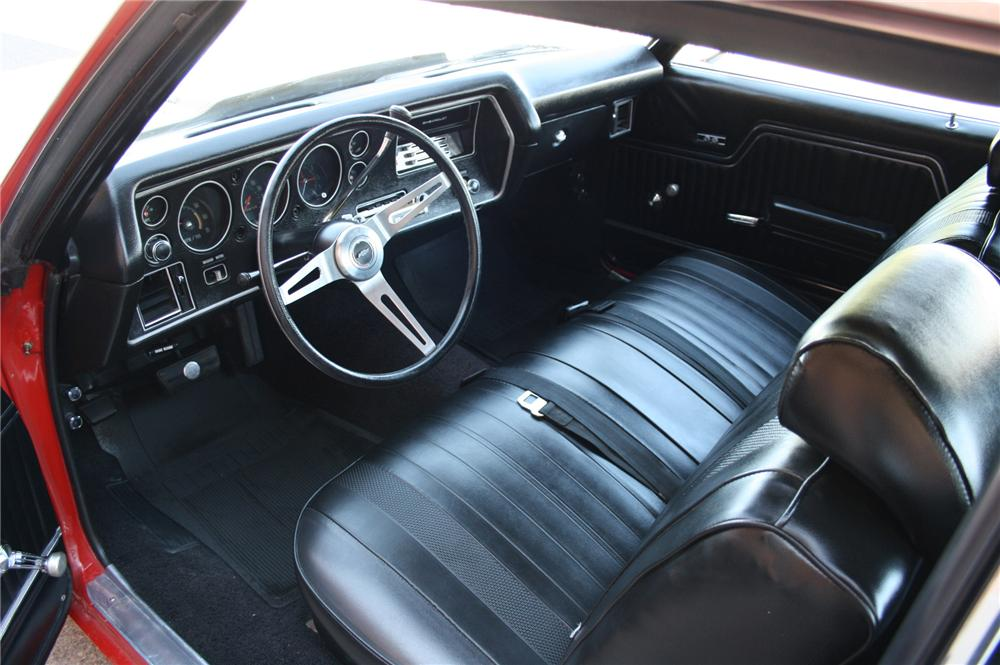 1970 CHEVROLET CHEVELLE SS 2 DOOR COUPE - Interior - 108180
