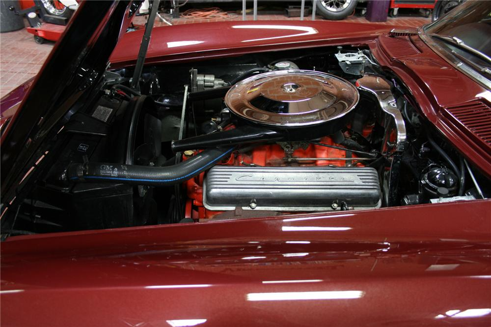 1965 CHEVROLET CORVETTE 2 DOOR COUPE - Engine - 108181