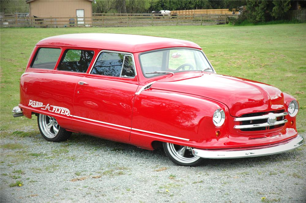 1952 NASH 2 DOOR CUSTOM WAGON - Front 3/4 - 108193