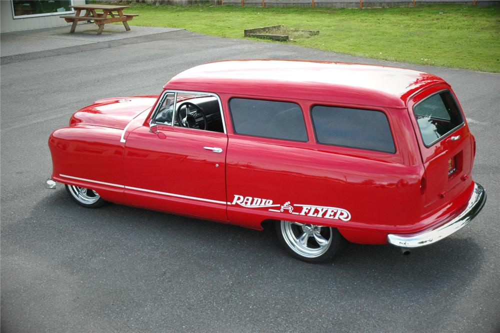 1952 NASH 2 DOOR CUSTOM WAGON - Rear 3/4 - 108193