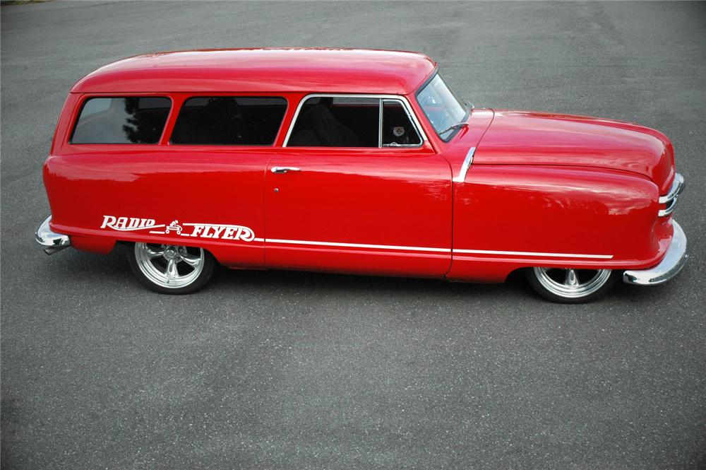 1952 NASH 2 DOOR CUSTOM WAGON - Side Profile - 108193