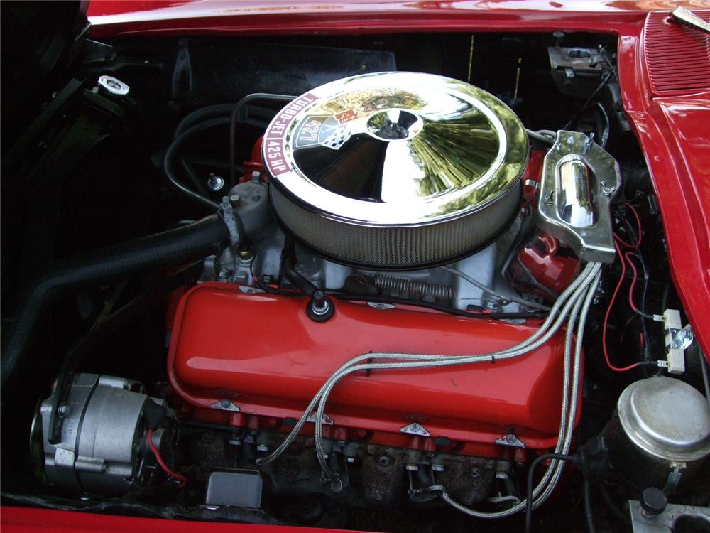 1966 CHEVROLET CORVETTE 2 DOOR COUPE - Engine - 108199