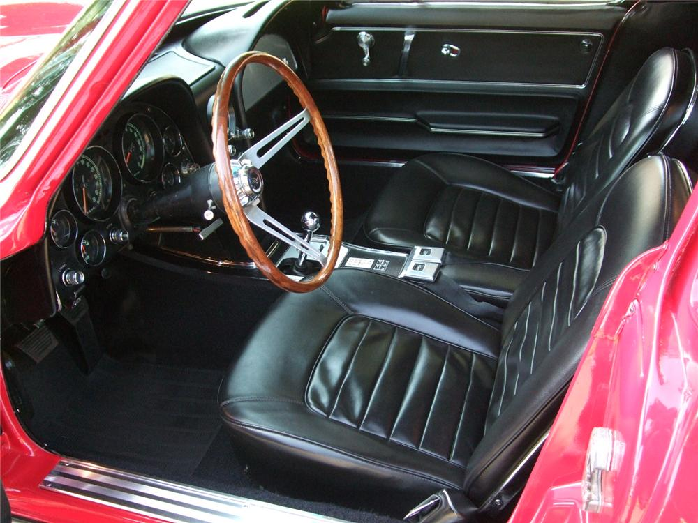 1966 CHEVROLET CORVETTE 2 DOOR COUPE - Interior - 108199