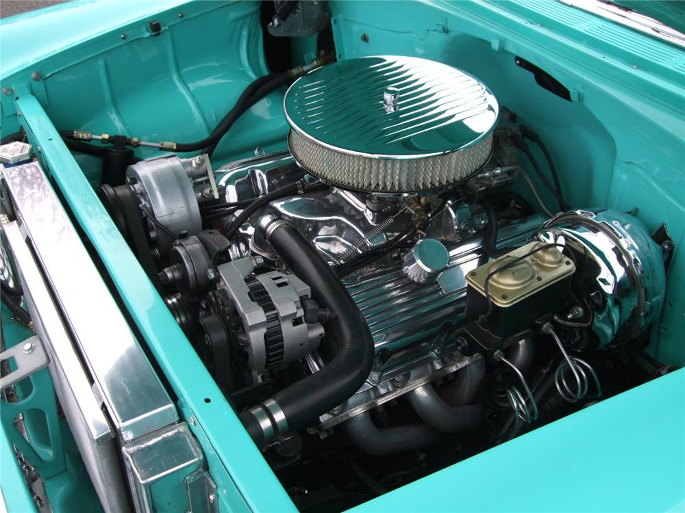 1955 CHEVROLET 150 2 DOOR CUSTOM SEDAN - Engine - 108201