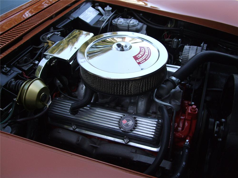 1972 CHEVROLET CORVETTE CONVERTIBLE - Engine - 108202