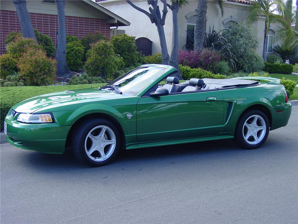 1999 Ford Mustang Gt Convertible 108206