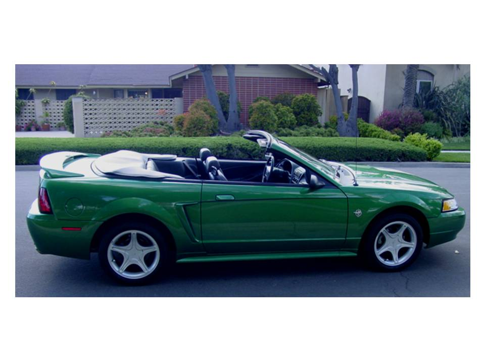 1999 FORD MUSTANG GT CONVERTIBLE - Side Profile - 108206