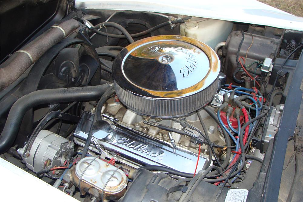 1977 CHEVROLET CORVETTE COUPE - Engine - 108213
