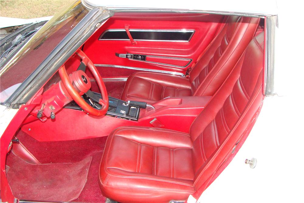 1977 CHEVROLET CORVETTE COUPE - Interior - 108213
