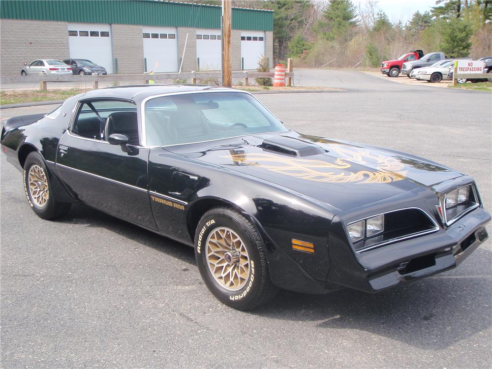 1978 PONTIAC TRANS AM 2 DOOR COUPE - Front 3/4 - 108214