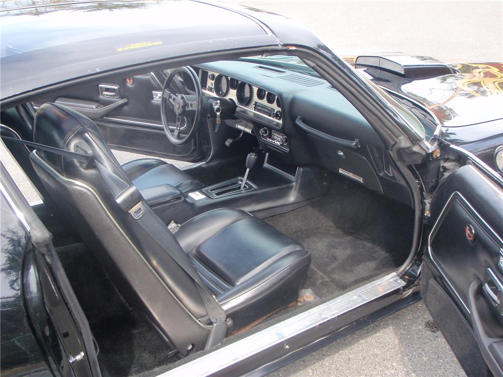 1978 PONTIAC TRANS AM 2 DOOR COUPE - Interior - 108214