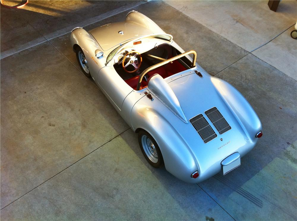 1955 PORSCHE SPYDER RE-CREATION - Rear 3/4 - 108223