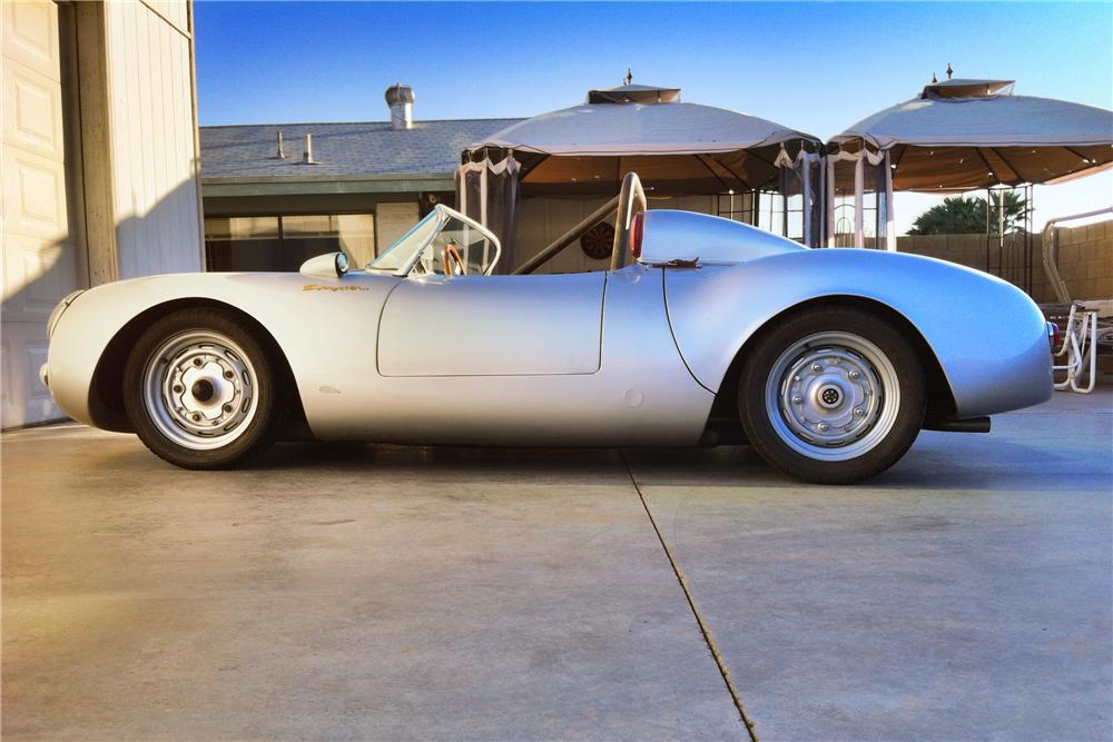 1955 PORSCHE SPYDER RE-CREATION - Side Profile - 108223