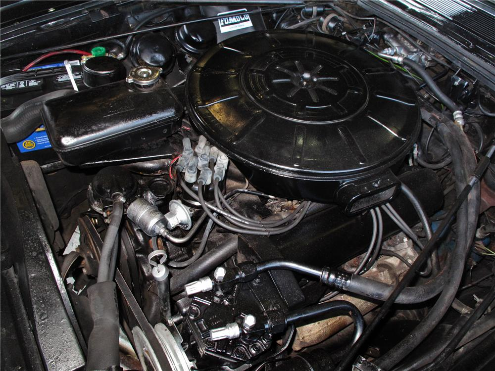 1963 LINCOLN CONTINENTAL CONVERTIBLE - Engine - 108233