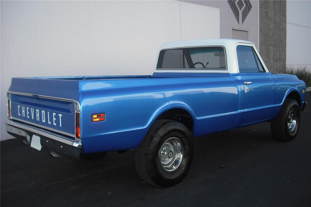 1970 CHEVROLET CUSTOM 4X4 PICKUP - Rear 3/4 - 108236