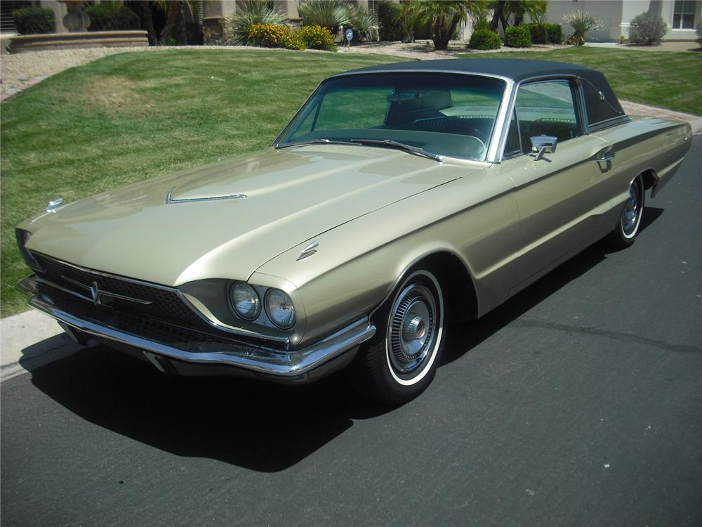 1966 FORD THUNDERBIRD 2 DOOR COUPE - Front 3/4 - 108239