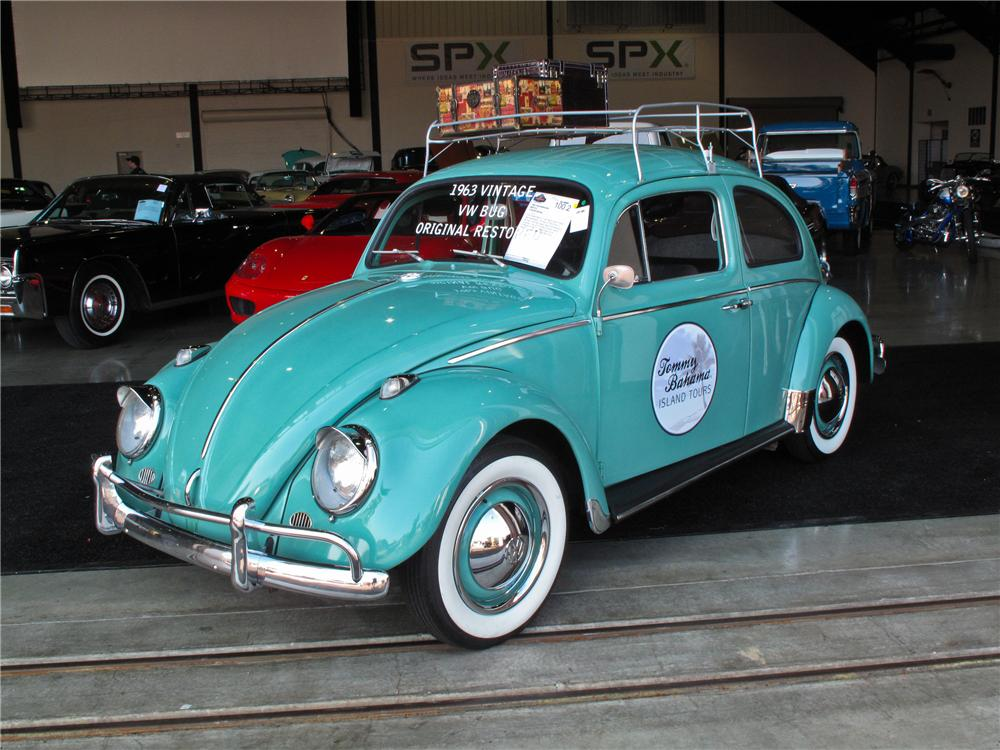 1963 VOLKSWAGEN BEETLE 2 DOOR SEDAN - Front 3/4 - 108240