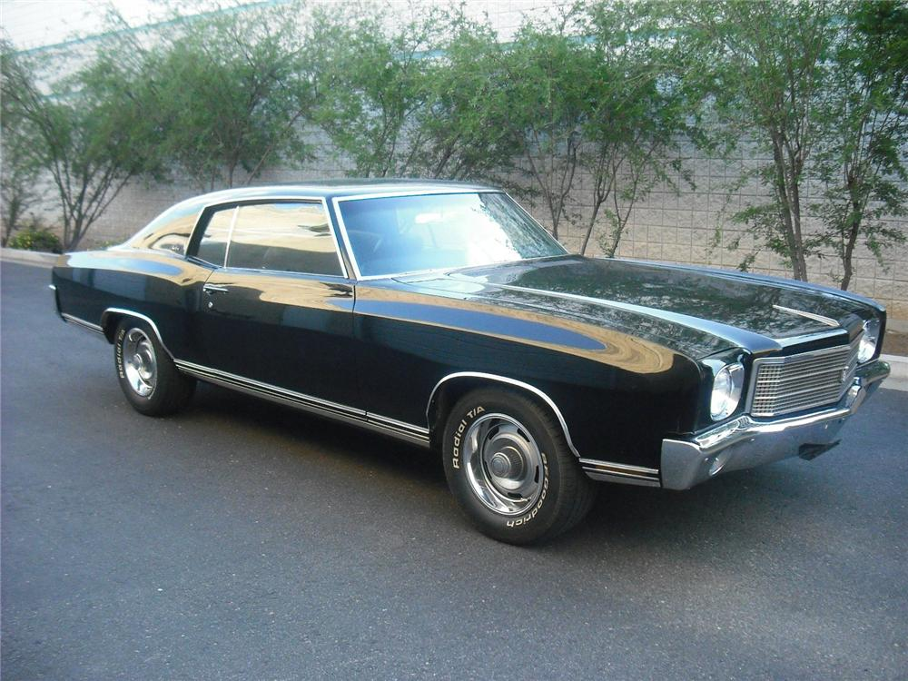 1970 CHEVROLET MONTE CARLO 2 DOOR COUPE - Front 3/4 - 108242