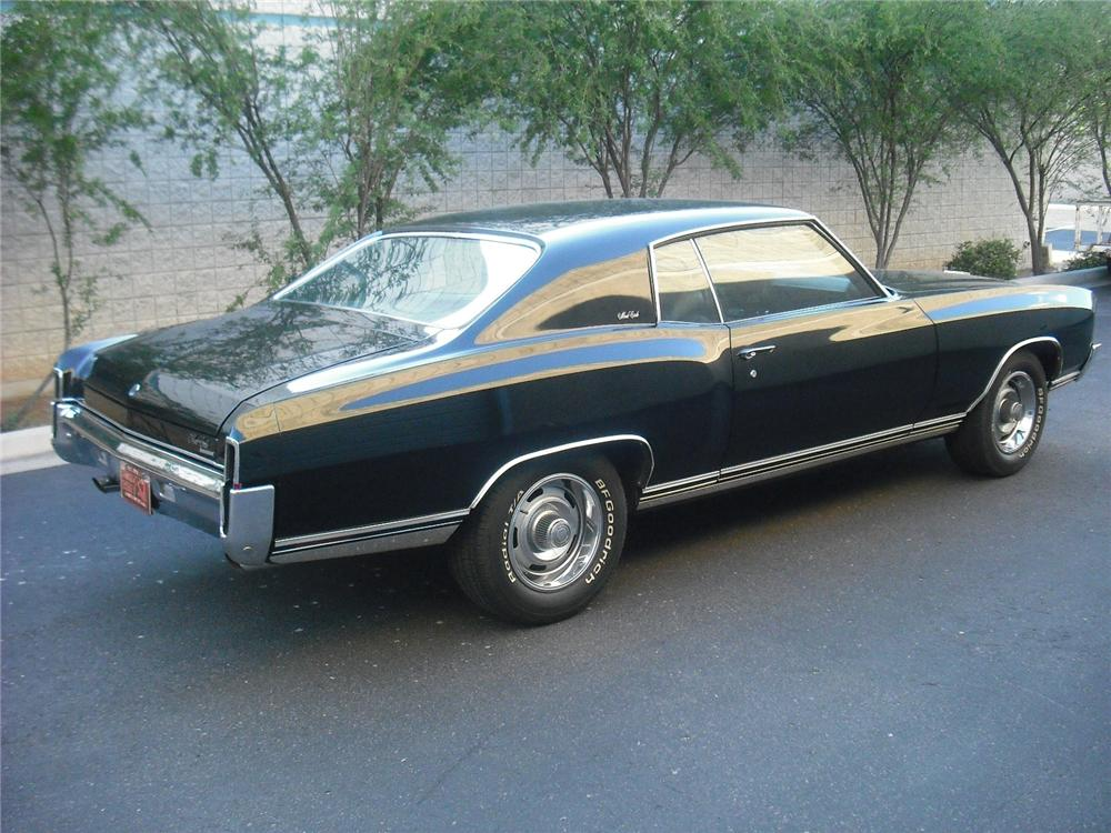 1970 CHEVROLET MONTE CARLO 2 DOOR COUPE - Rear 3/4 - 108242