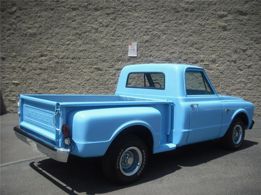 1967 CHEVROLET C-10 PICKUP - Rear 3/4 - 108246