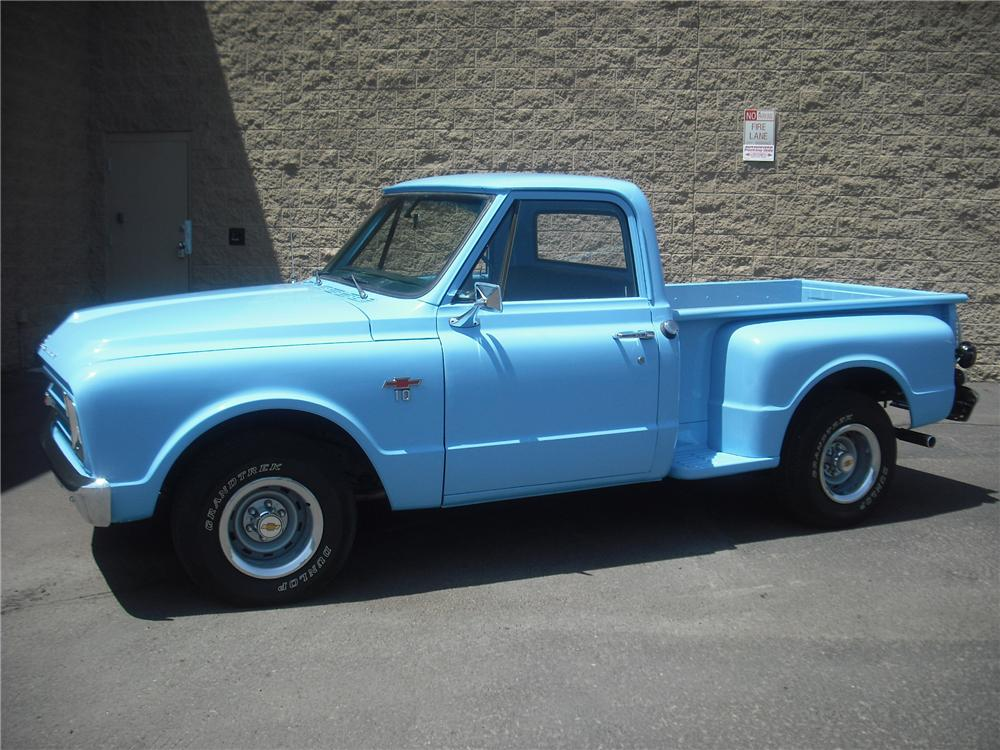 1967 CHEVROLET C-10 PICKUP - Side Profile - 108246