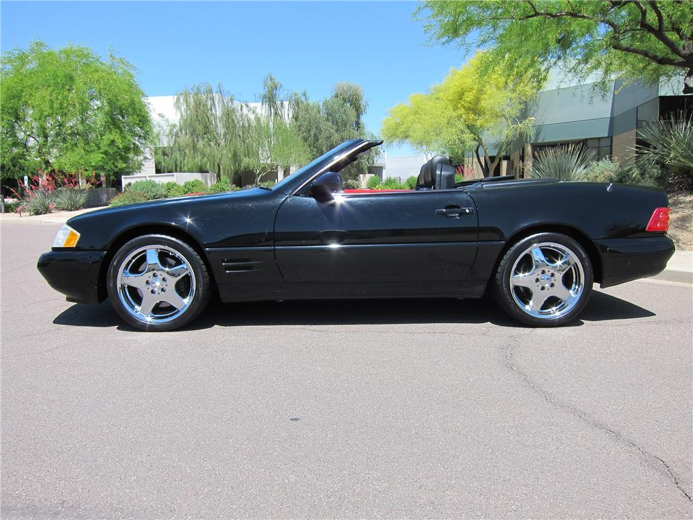 2000 mercedes benz sl500 convertible 108257 for Mercedes benz sl convertible
