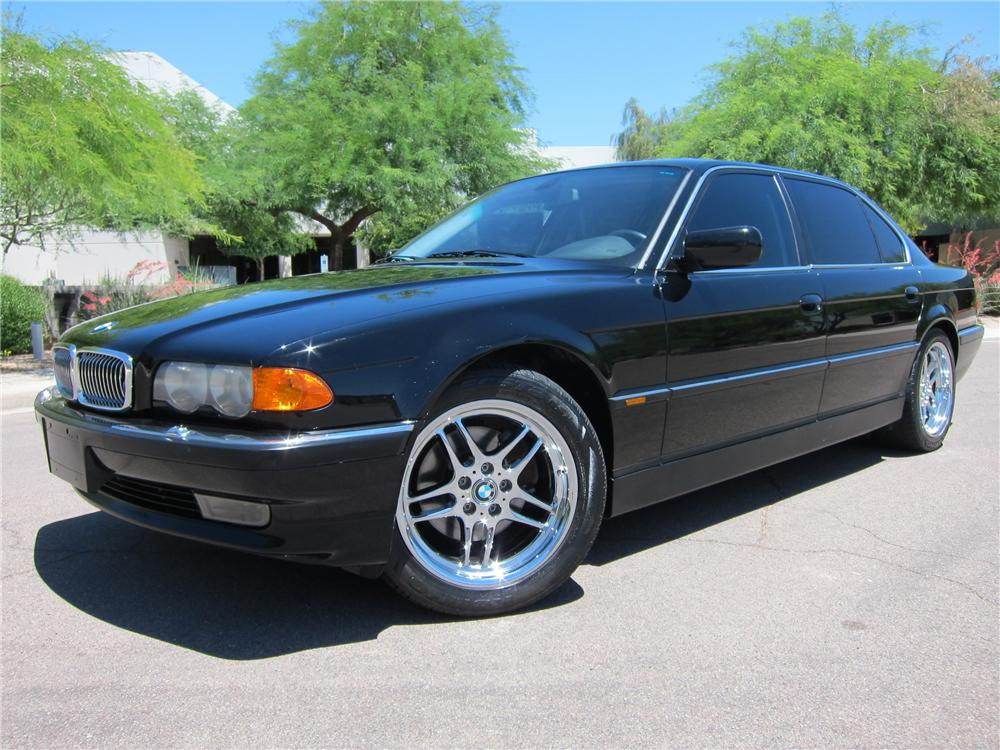 2000 BMW 740IL 4 DOOR SEDAN - Front 3/4 - 108270