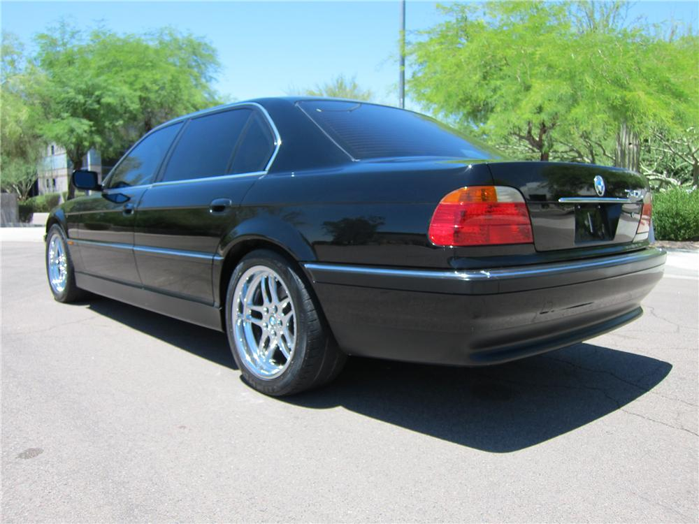 2000 BMW 740IL 4 DOOR SEDAN - Rear 3/4 - 108270