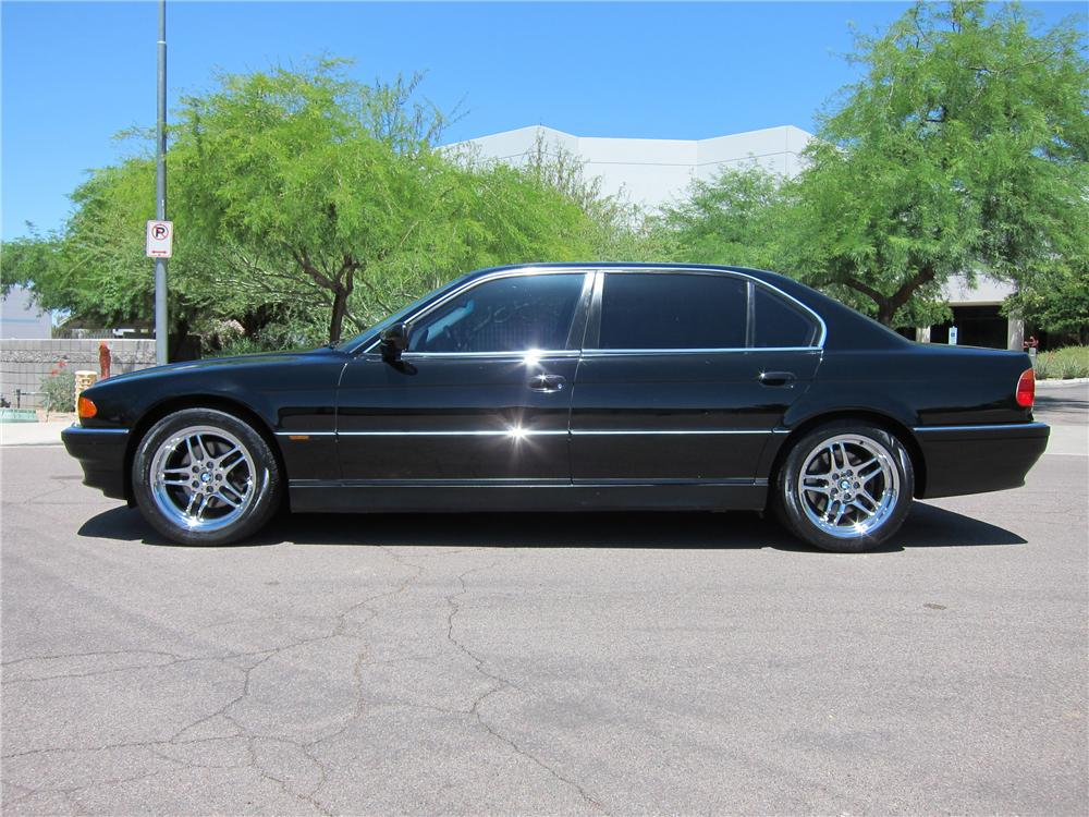 2000 BMW 740IL 4 DOOR SEDAN - Side Profile - 108270