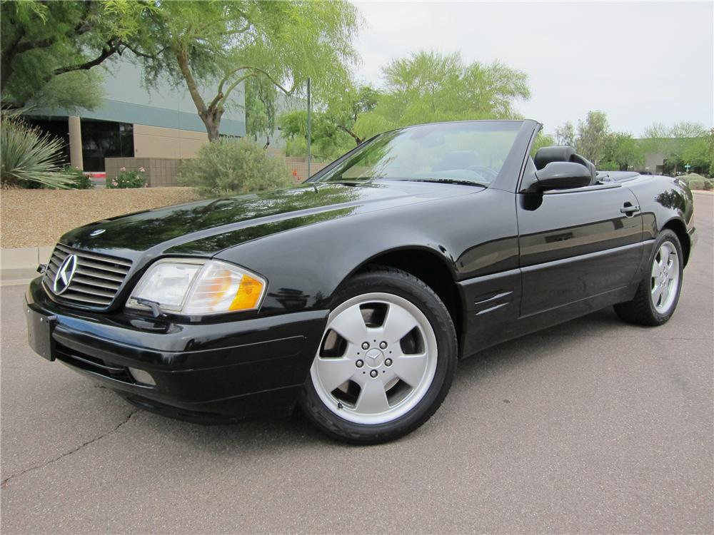 1999 MERCEDES-BENZ SL500 CONVERTIBLE - Front 3/4 - 108271