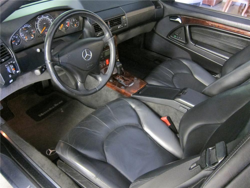 1999 MERCEDES-BENZ SL500 CONVERTIBLE - Interior - 108271