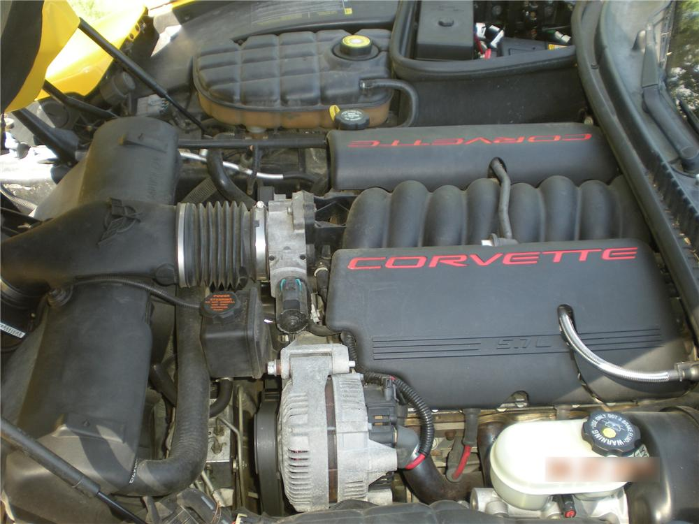 2001 CHEVROLET CORVETTE 2 DOOR COUPE - Engine - 108274