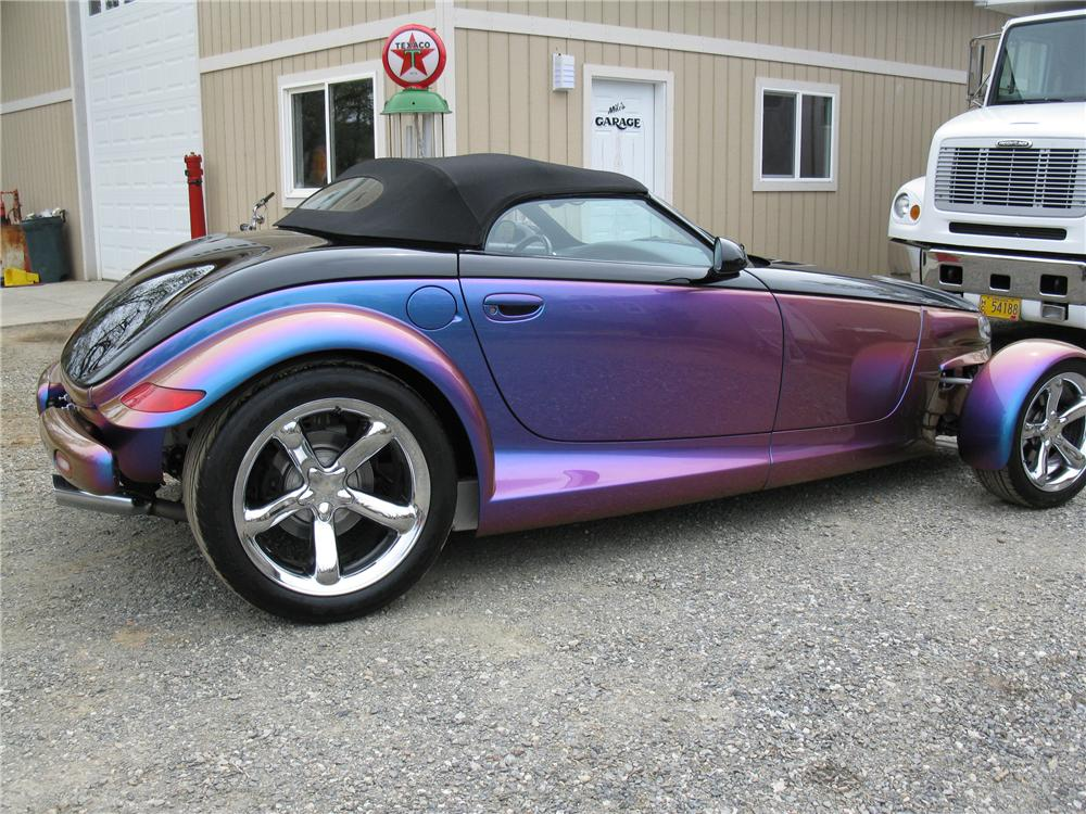 2000 PLYMOUTH PROWLER CUSTOM CONVERTIBLE - Side Profile - 108276