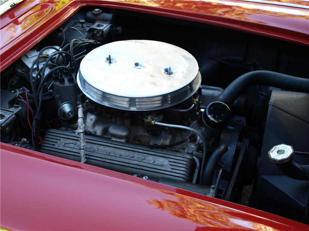 1958 CHEVROLET CORVETTE CONVERTIBLE - Engine - 108297