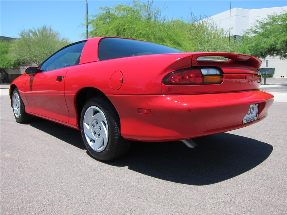 1997 CHEVROLET CAMARO COUPE - Rear 3/4 - 108308