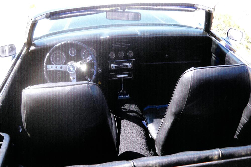 1971 FORD MUSTANG CUSTOM CONVERTIBLE - Interior - 108309