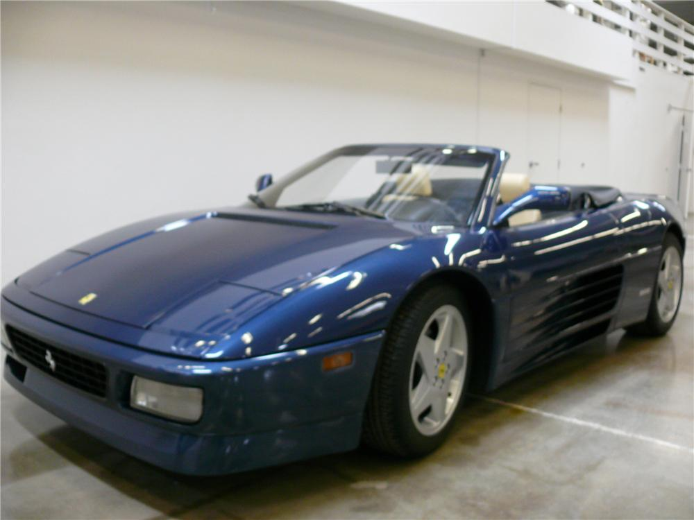 1994 FERRARI 348 SPYDER CONVERTIBLE - Side Profile - 108316