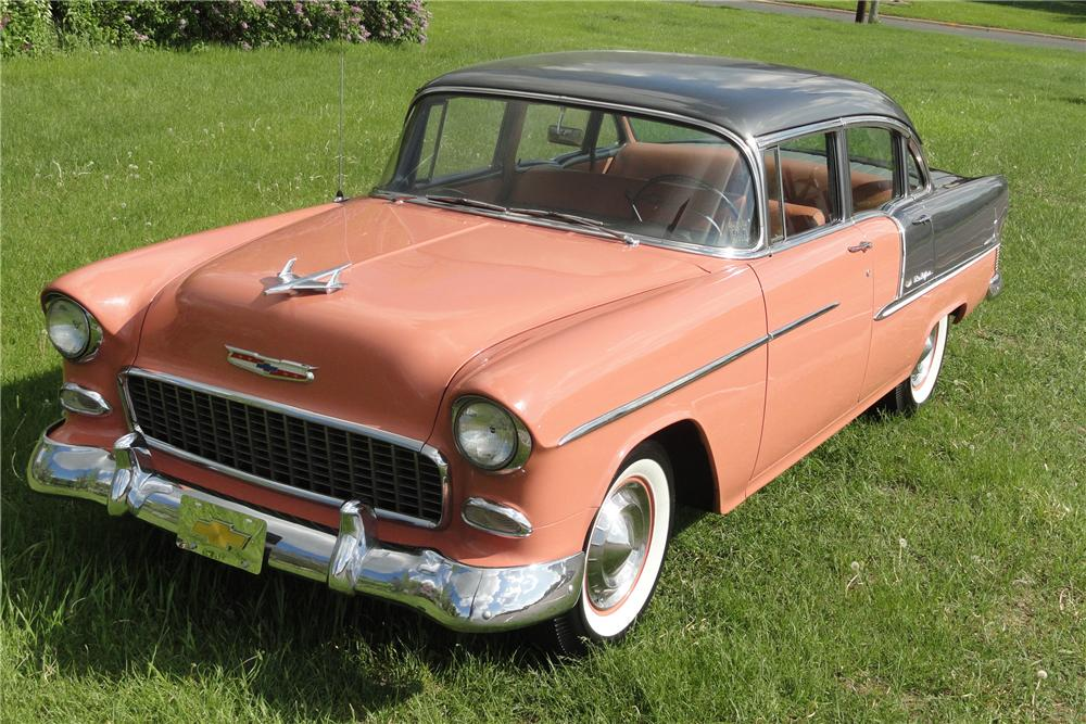1955 chevrolet bel air 4 door sedan 108318
