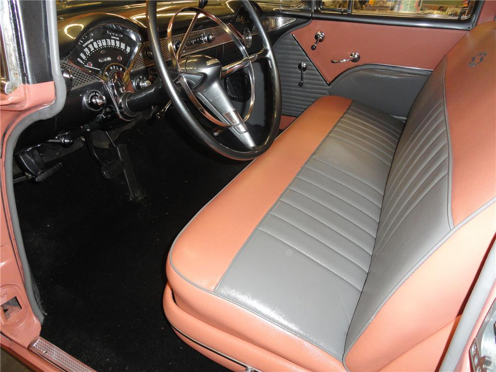 1955 CHEVROLET BEL AIR 4 DOOR SEDAN - Interior - 108318